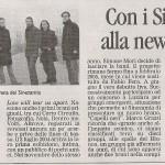 Articolo La Gazzetta di Mantova 3.06.07
