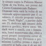 Articolo La Cronaca 30.07.07