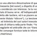 Recensione Versacrum - maggio 2007