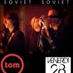 "28/11/14 – ""Arci Tom"" – Mantova (con SOVIET SOVIET)"