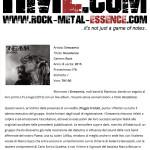 Rock Metal Essence, Aprile 2015